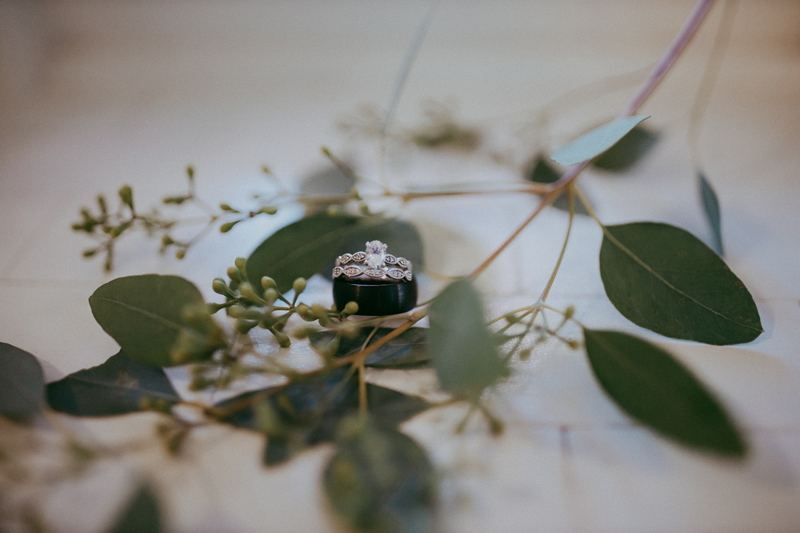 Elopement Photography, detailed ring shot